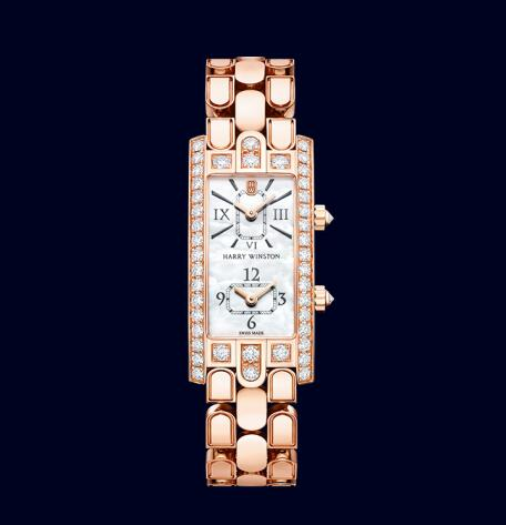 The sparkling and exquisite timepieces are filled with soft and gentle feminine feelings.