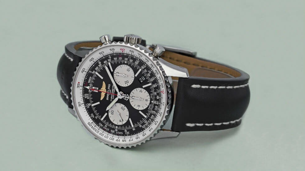 This Breitling has combined all the iconic features of the Navitimer.