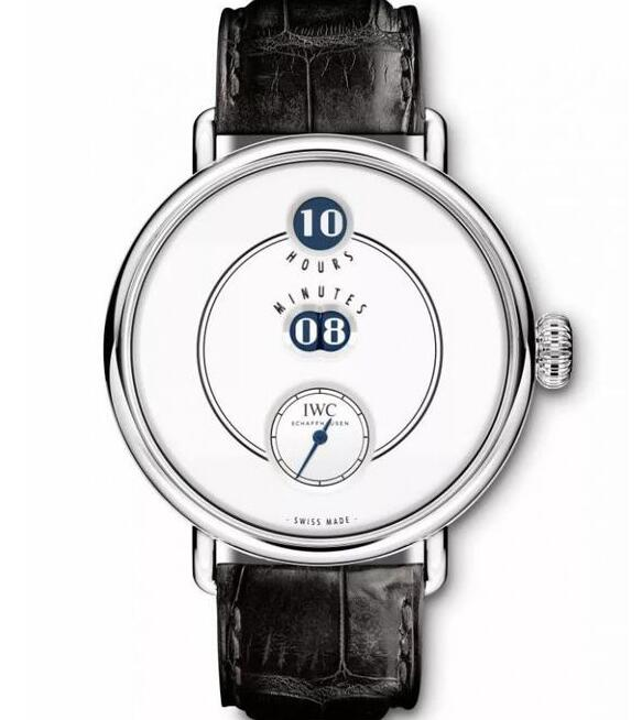 This IWC watch is very distinctive and charming.