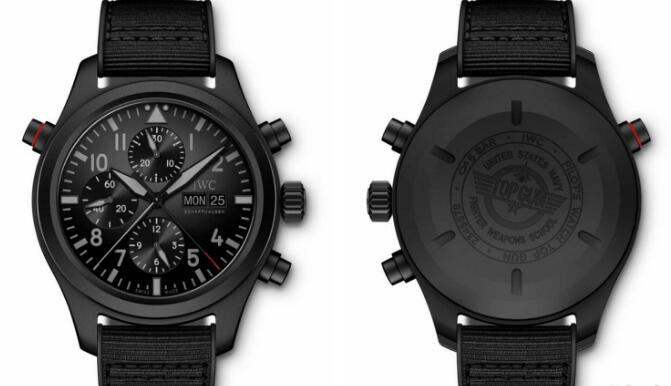 The new material has met the requirements of the whole black model from the watch lovers.