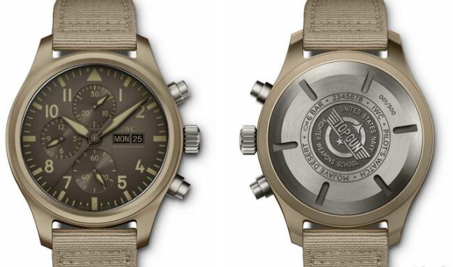 The distinctive color has attracted lots of watch lovers who are interested in modern battlefield of the Middle East.