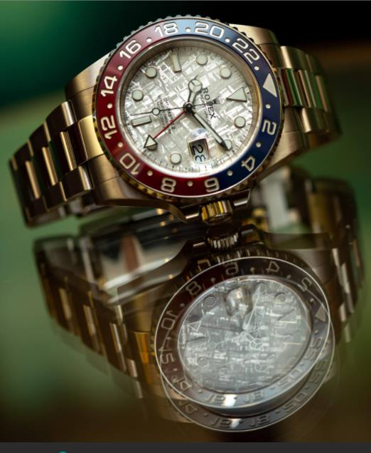 The luxury fake watches are made from 18ct white gold.