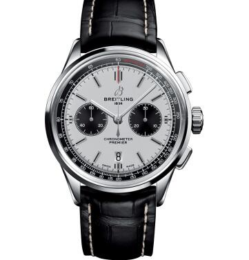 The Breitling Premier watches are more elegant and gentle.