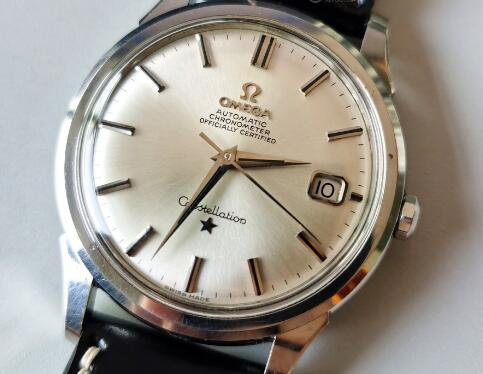 The special Omega Constellation is good choice for formal occasions.