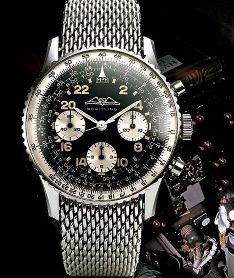 The Breitling performs perfectly in precision and reliability.