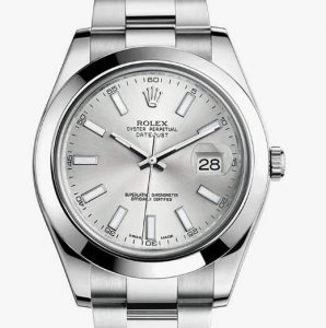 Simple Datejust is chosen by many women as first choice.
